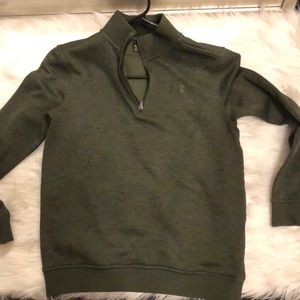 Sweaters - Under armor youth large zip up sweater